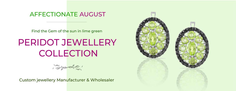 Peaceful August- Peridot Jewellery