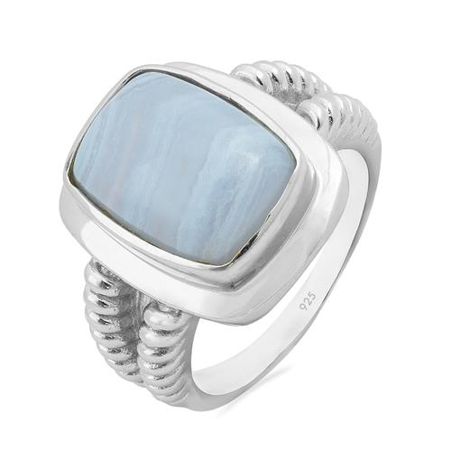 BLUE LACE AGATE RING #VR011007