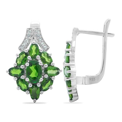 CHROME DIOPSITE EARRING #VE08862