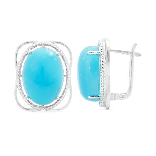 SMITHSONITE EARRING