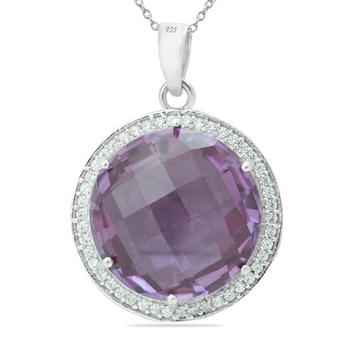 ALEXANDRITE PENDANT WITH ZIRCON #VP010294