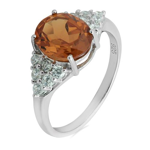 ZULTANITE RING WITH ZIRCON