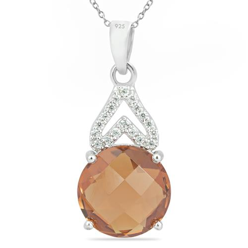 NANO ZULTANITE PENDANT WITH ZIRCON