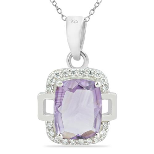 AMETHYST PENDANT WITH ZIRCON #VP014696