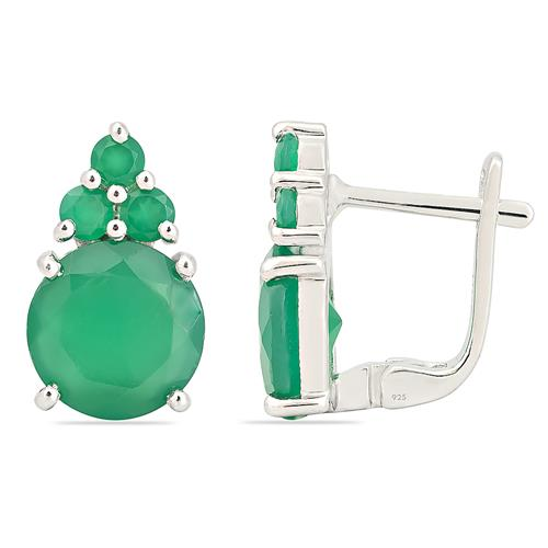 GREEN ONYX EARRING #VP05800