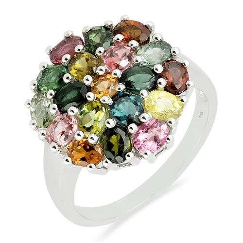 MULTI TOURMALINE RING #VR016649