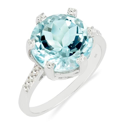 SKY BLUE TOPAZ RING #VR015407