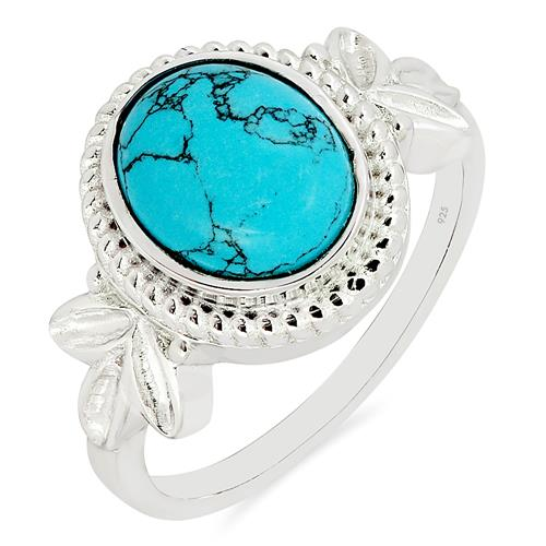 SYNTHETIC TURQUOISE RING