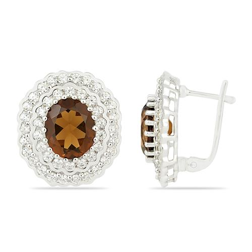 NANO ZULTANITE EARRING WTH ZIRCON