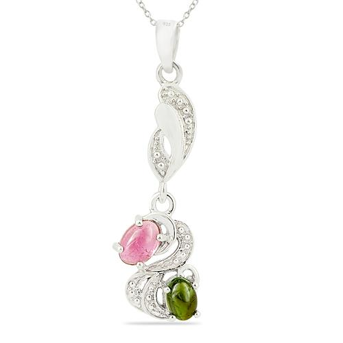 MULTI TOURMALINE PENDANT #VP017206