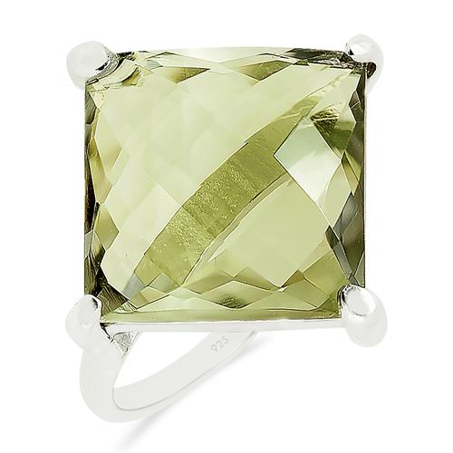 GREEN AMETHYST RING #VR017031