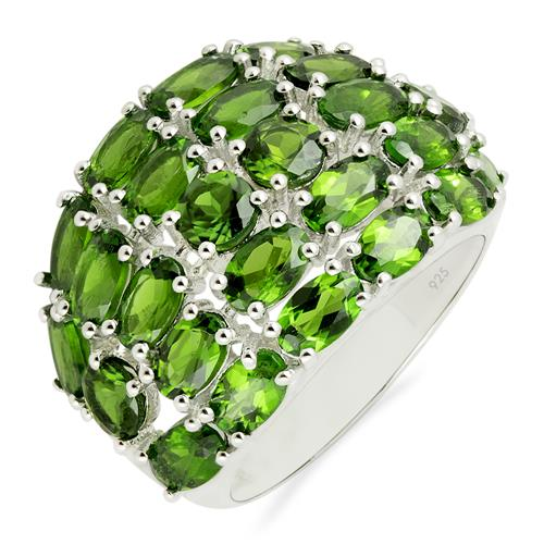 CHROME DIOPSITE RING