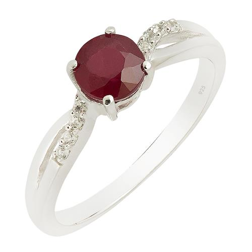 RUBY RING WITH ZIRCON #VR014738