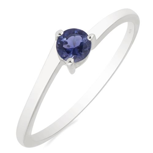 BLUE KYANITE SILVER RING #VR014959