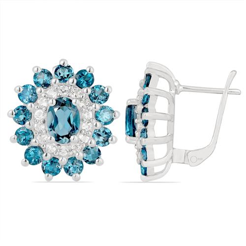 LONDON TOPAZ EARRING WITH ZIRCON #VE05875