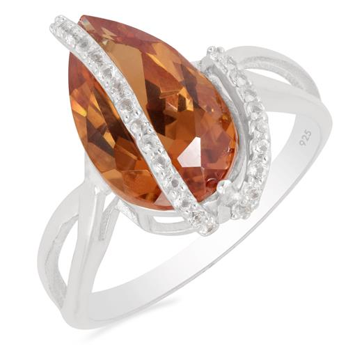 NANO ZULTANITE RING WITH ZIRCON