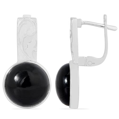 VE019859 BLACK ONYX EARRING