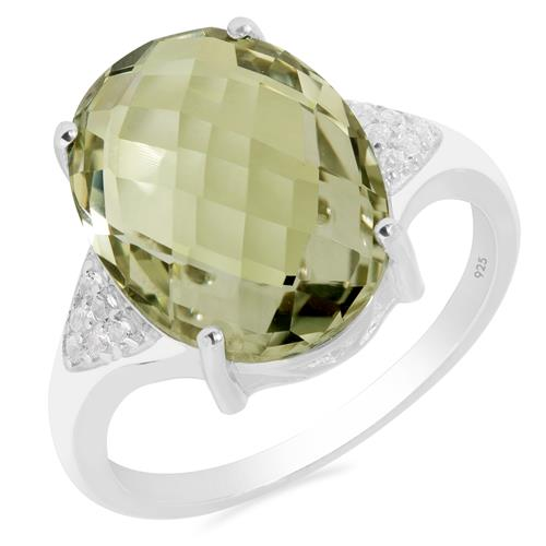VR014382 NANO ZULTANITE RING WITH WHITE ZIRCON