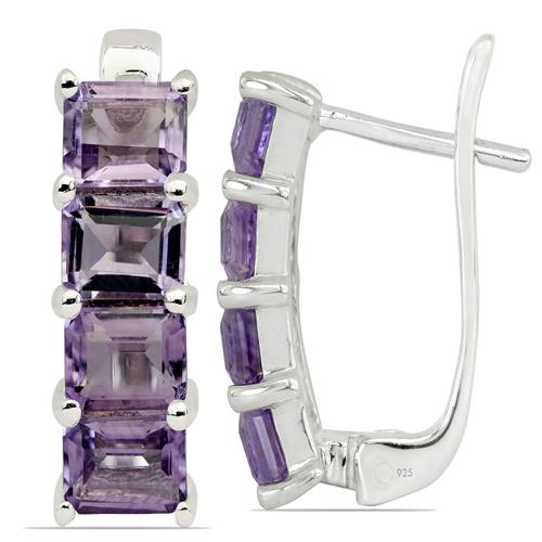 BRAZILIAN AMETHYST EARRING #VE06899