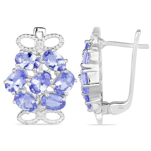 TANZANITE SILVER EARRING #VE019976