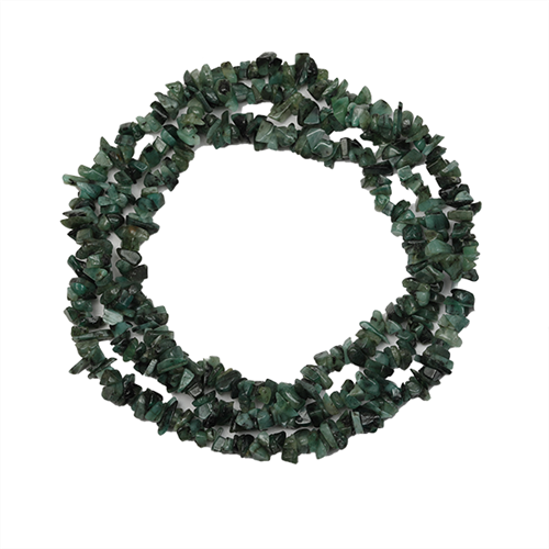 NATURAL EMERALD 32 - 34 INCHES NUGGET NECKLACE #VBJ010005