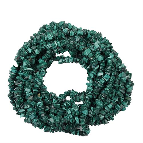 NATURAL MALACHITE 100 INCHES NUGGET NECKLACE #VBJ010018