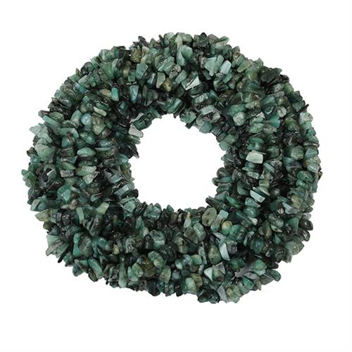 NATURAL EMERALD 100 INCHES NUGGET NECKLACE #VBJ010019