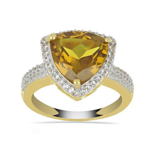 6.00 CT NANO ZULTANITE  GOLD PLATED STERLING SILVER RING #VR033233