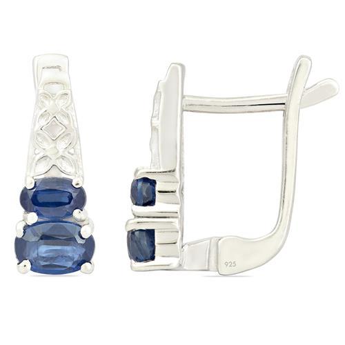 1.50 CT BLUE KYANITE EARRING