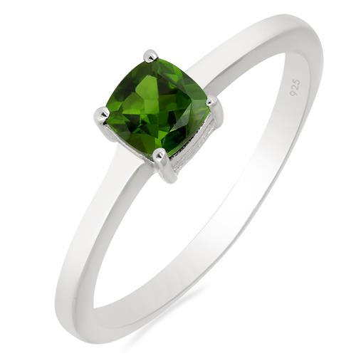0.55 CT CHROME DIOPSITE RING #VR016375