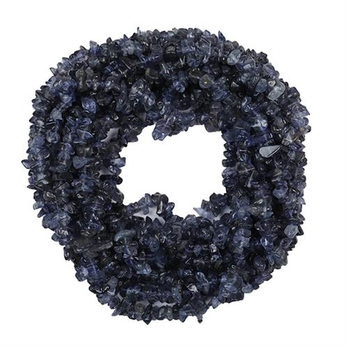 NATURAL IOLITE 100 INCHES NUGGETS NECKLACE #VBJ010027